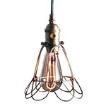 L398 Workshop Cage Lamp
