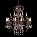 Florence Chandelier - Tortoise Shell  / Cream