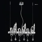 Linear 2000 Suspension - Chrome / Crystal
