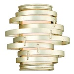 Vertigo Small Wall Light - Modern Silver/ Citrine Ice /