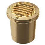 Low Voltage Well Light 1599 - Brass / Clear