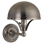 Covington Wall Light - Historic Nickel /