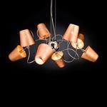 Aria Suspension - Chrome / Copper Metallic
