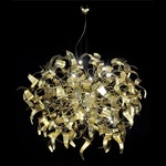 Diva Suspension - Gold / Gold Leaf