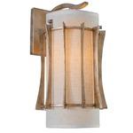 Occasion Wall Light - Zen Gold / Tan Silk Slug