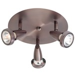 Mirage Spot Flush Mount - Bronze /