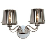 Milano Wall Light - Chrome / Chrome