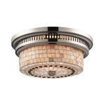 Chadwick Cappa Shell Ceiling Flush Mount