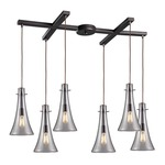 Menlow Park 60045-6 6-Light Pendant