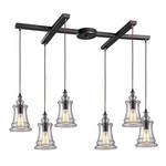 Menlow Park 60042-6 6-Light Pendant