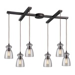 Menlow Park 60043-6 6-Light Pendant