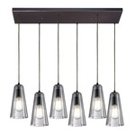 Menlow Park 60048-6RC 6-Light Linear Pendant