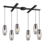 Menlow Park 60044-6 6-Light Pendant