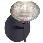 Lasso Wall Light - Bronze / Glitter Ribbed