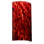 Tamburo Wall Light - Bronze / Garnet