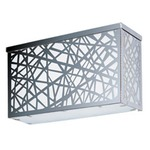 Inca LED Outdoor Wall Light - Polished Chrome /