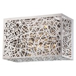 Hidden Gems LED Bath Bar  - Chrome / Crystal