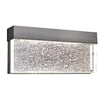 Moda Exterior Wall Sconce - Stainless Steel / Bubble