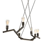 Akimbo Linear Suspension - Antique Bronze /