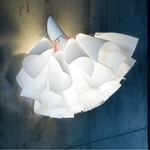 TuTu Wall Sconce - White / White