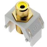 Composite Video RCA to F-Connector -  / White