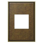 Cast Metal Wall Plate -  / Aged Brass