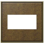 Cast Metal Wall Plate -  / Aged Brass