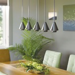 Mobius Steel Shade Mini Pendant -  /