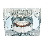 Crystal Ribbed Square 3 1/4 inch Trim