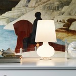 Fontana 1853 Table Lamp - White / White