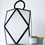 Muse Battery Outdoor Lamp - Black Pearl / Satin White Acrylic