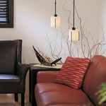 Exos Round Adjustable Pendant by Hubbardton Forge