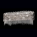 Cameo 5 Light Bath Bar - Nickel / Clear Crystal