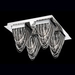 Wasaga Ceiling Light - Chrome /