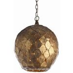 Osgood Pendant - Antique Gold /
