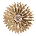 Broche 500 Wall Light - Antique Gold /
