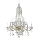 Traditional Crystal 1112 Chandelier