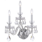 Traditional Crystal 1143 Wall Sconce