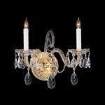 Traditional Crystal 5042 Wall Sconce