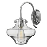 Congress Saturn Wall Light - Chrome / Clear