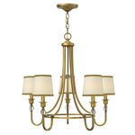 Morgan Chandelier - Brushed Bronze /