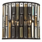 Gemma Wall Light - Vintage Bronze / Crystal