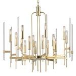 Bari Chandelier - Aged Brass /