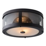 Bluffton Ceiling Light Fixture - Oil Rubbed Bronze / Clear