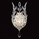 Crystal Laurel Solid Wall Sconce