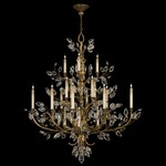 Crystal Laurel Foyer Chandelier