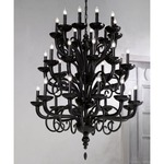 6011/K 18 Light Chandelier