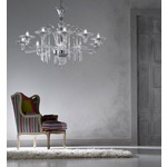 6012/K 8 Light Chandelier