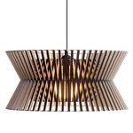 Kontro Pendant -  / Black Laminated Birch