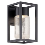 Structure Outdoor Wall Light - Black / Clear Seedy